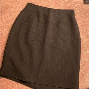 Thalian Pinstripe Mini Skirt